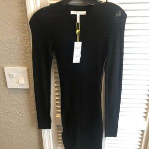 NWT BCBGeneration LS knit fitted dress